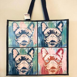 コストコ(コストコ)のアメリカ パグ 犬 いぬ フレンチブルドッグ ビッグ エコバッグ トートバッグ(エコバッグ)