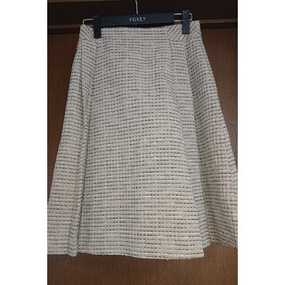 ルネ(René)のルネ ツイードスカート 34(ひざ丈スカート)