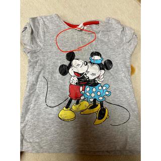 エイチアンドエム(H&M)のミッキーミニーTシャツ(Tシャツ)