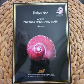 JMsolution 韓国 マスク カタツムリ ブライトニング5枚(パック/フェイスマスク)