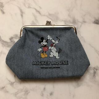 Disney - ディズニー ミッキー プルート がま口ポーチ