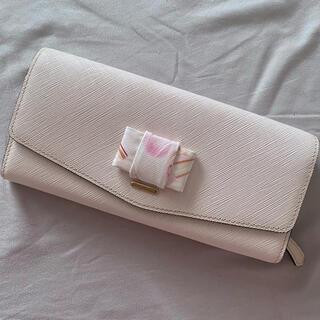 ヨンドシー(4℃)の新品 ルリア4°C コスメ柄 リボン付 長財布(財布)