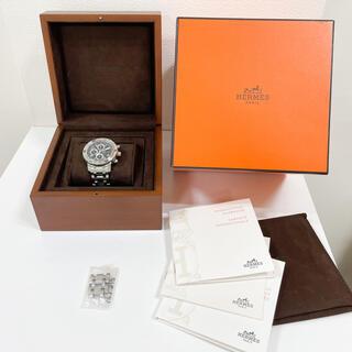 エルメス(Hermes)のエルメス CP2.910 クリッパーダイバー クロノグラフ メンズ腕時計 自動巻(腕時計(アナログ))