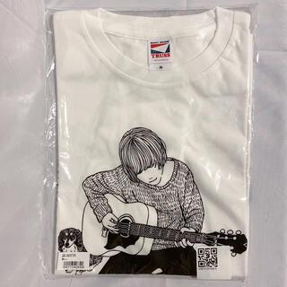 Blue Moment ギターグラフィック Tシャツ ホワイト M(Tシャツ/カットソー(半袖/袖なし))
