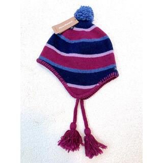 パタゴニア(patagonia)のPatagonia  パタゴニア ニット帽  【新品タグ付】キッズ・レディース(ニット帽/ビーニー)