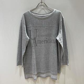 アメリカーナ(AMERICANA)のAMERICANA アメリカーナ/7分袖Tシャツ(Tシャツ(長袖/七分))