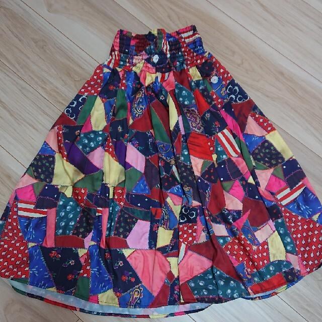 GO TO HOLLYWOOD(ゴートゥーハリウッド)のgotoロングスカート キッズ/ベビー/マタニティのキッズ服女の子用(90cm~)(スカート)の商品写真