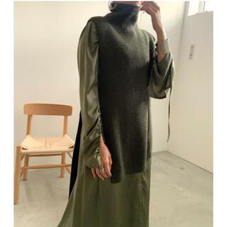 アメリヴィンテージ(Ameri VINTAGE)のAmeriVintage  VEST LAYERED SHIRT DRESS (セット/コーデ)