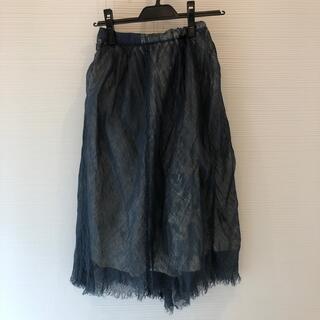 GO TO HOLLYWOOD - ゴートゥーハリウッド 150 リネンデザイン スカート