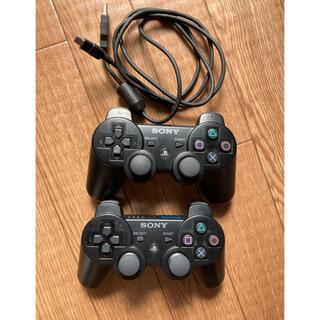 プレイステーション3(PlayStation3)の純正 PS3コントローラー   DUALSHOCK3  振動機能なし セット(その他)