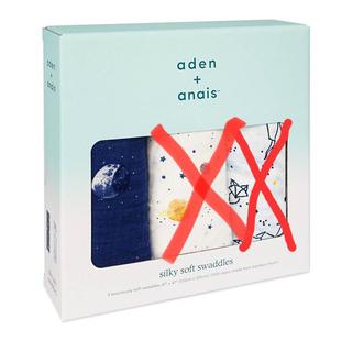 aden+anais - 【未使用】おくるみ 2枚セット