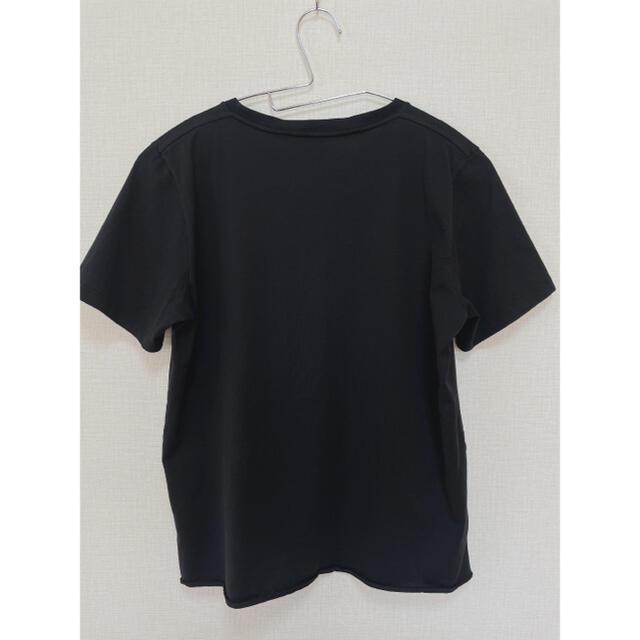 Saint Laurent(サンローラン)のサンローラン ロゴTシャツ  ブラック メンズのトップス(Tシャツ/カットソー(半袖/袖なし))の商品写真