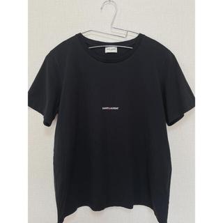 Saint Laurent - サンローラン ロゴTシャツ  ブラック