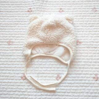 エイチアンドエム(H&M)のH&M 熊耳 帽子 6-9M(帽子)