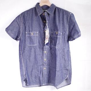 BACK NUMBER - BACK NUMBER デニムシャツ メンズ ブルー