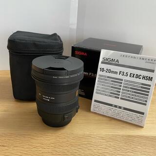 SIGMA - シグマ10-20mm F3.5 10-20mm F3.5 EX DC