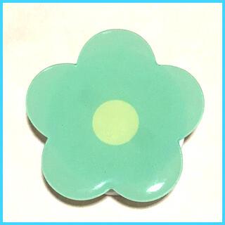 ポップソケット スマホグリップ 花 はな グリーン 緑(その他)