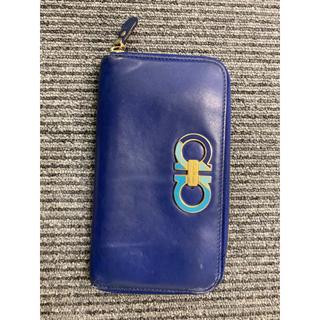 サルヴァトーレフェラガモ(Salvatore Ferragamo)の正規品フェラガモ長財布ラウンドファスナー男女兼用(財布)
