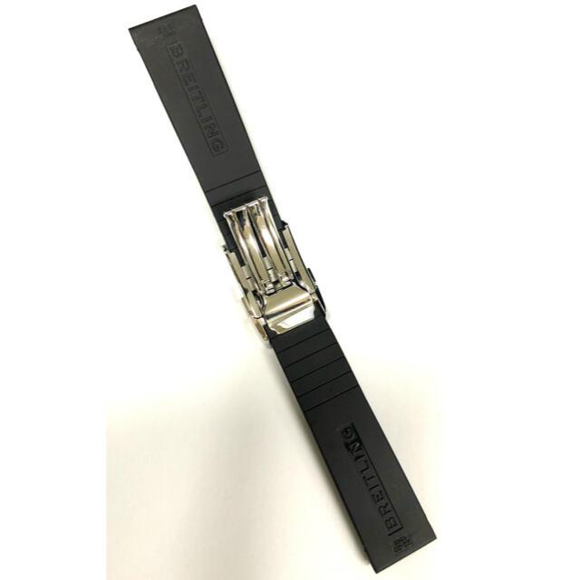 BREITLING(ブライトリング)のブライトリング 純正 ラバーベルト 正規品 22mm クロノマット44 メンズの時計(ラバーベルト)の商品写真