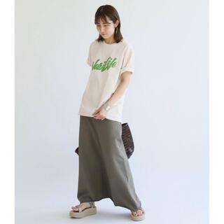 フレームワーク(FRAMeWORK)のFRAMe WORK MIXTA New Life ロゴ Tシャツ  新品(Tシャツ(半袖/袖なし))