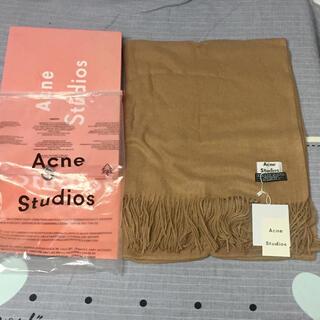 アクネ(ACNE)のacne studios マフラーキャメル(マフラー/ショール)