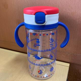 リッチェル(Richell)のリッチェル お出かけ ストローマグ 320ml 海 青 赤 白 トリコロール (マグカップ)