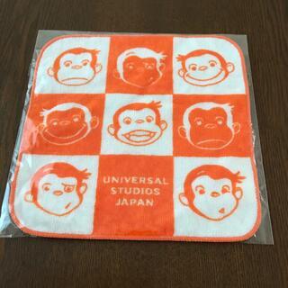 ユニバーサルスタジオジャパン(USJ)のハンドタオル おさるのジョージ(タオル)