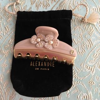 Alexandre de Paris - 試着のみ アレクサンドル ドゥ パリ クリップ お花 フラワー スワロ