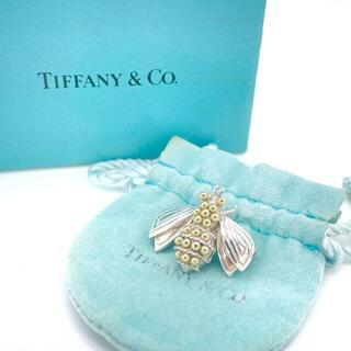 Tiffany & Co. - 極希少 美品 ヴィンテージ ティファニー BEE コンビ ブローチ XC26
