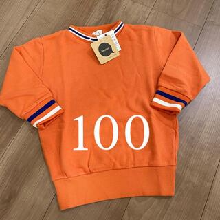JAM - ストーリーズ グランドスラム ラインリブトレーナー オレンジ 100