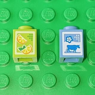 レゴ(Lego)の【新品】LEGO オレンジジュース&ミルク レゴ ミニフィグアイテム(その他)