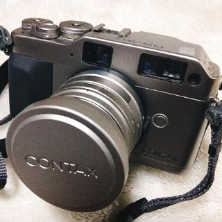 コンタックス CONTAX G1+metal hood gg-2