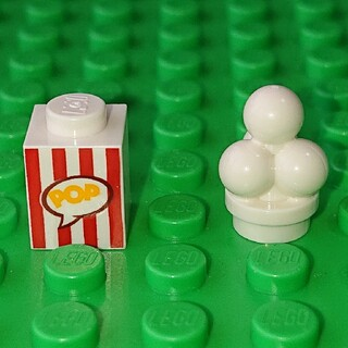 レゴ(Lego)の【新品】LEGO ポップコーン レゴ ミニフィグアイテム(その他)