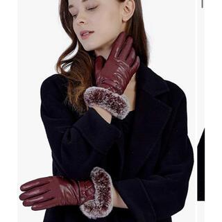 本革 手袋 レディース スマホ対応(手袋)