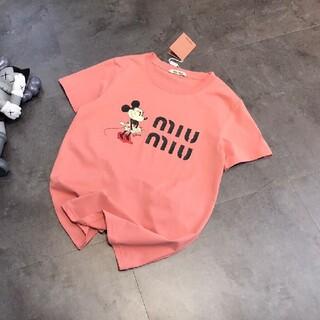 ミュウミュウ(miumiu)のミュウミュウ Tシャツ (Tシャツ(半袖/袖なし))
