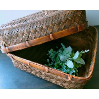 新品未使用 竹カゴ インテリア 小物入れ 雑貨