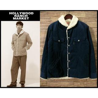 HOLLYWOOD RANCH MARKET - ★ 美品 ハリウッドランチマーケット コーデュロイ ボアランチ ジャケット 2