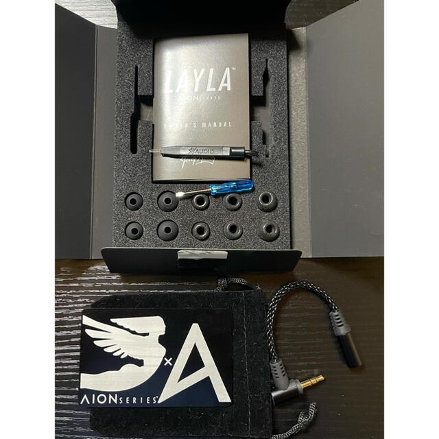 iriver(アイリバー)のJH Audio Layla AION ハイエンドイヤホン スマホ/家電/カメラのオーディオ機器(ヘッドフォン/イヤフォン)の商品写真
