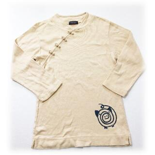 ドラッグストアーズ(drug store's)のドラッグストアーズ チャイナボタン ぶたちゃん 7分袖 Tシャツ DSCLUB(Tシャツ(長袖/七分))