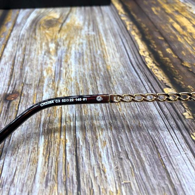 CHANEL(シャネル)の送料込 CHANEL メガネフレーム 鼈甲 レディースのファッション小物(サングラス/メガネ)の商品写真