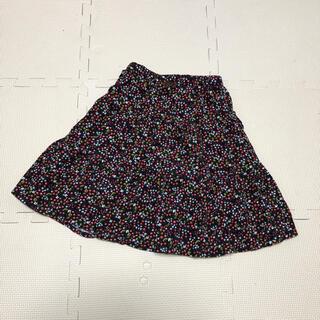 サンカンシオン(3can4on)の新品!3カン4オン 女の子 キッズ コーデュロイ 小花柄スカート(スカート)
