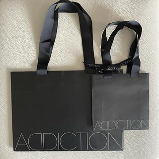 ADDICTION - ADDICTION アディクション ショップ袋 2枚