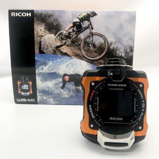 リコー(RICOH)のRICOH 防水アクションカメラ WG-M1 オレンジ WG-M1 OR(コンパクトデジタルカメラ)