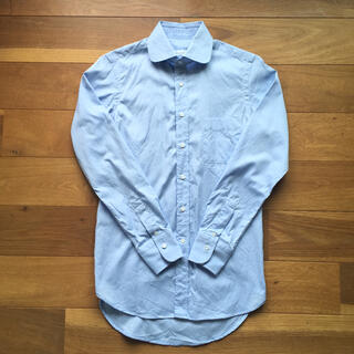 スーツカンパニー(THE SUIT COMPANY)のTHE SUITS COMPANY スーツカンパニー ラウンドカラーシャツ S(シャツ)