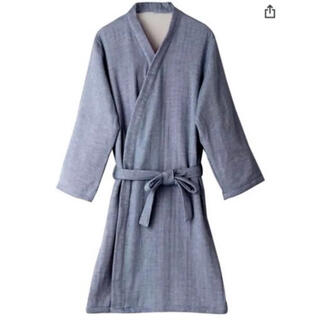 今治タオル - hiorie(ヒオリエ) 日本製 バスローブ プレーン ガーゼ 表ガーゼ裏パイル