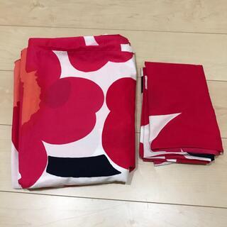 マリメッコ(marimekko)のマリメッコ生地の掛け布団カバーと枕カバー(シーツ/カバー)