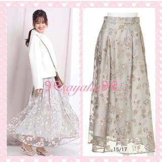 リランドチュール(Rirandture)の🌸新品🌸 🎀Rirandture🎀 チュール刺繍ロングスカート(ロングスカート)