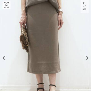 アパルトモンドゥーズィエムクラス(L'Appartement DEUXIEME CLASSE)のアパルトモン♡AMERICANA Sweat スカート(トレーナー/スウェット)