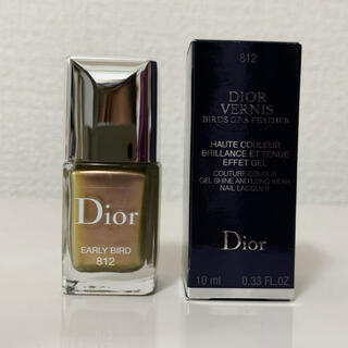 ディオール(Dior)のディオールヴェルニ バーズオブフェザー 812(マニキュア)