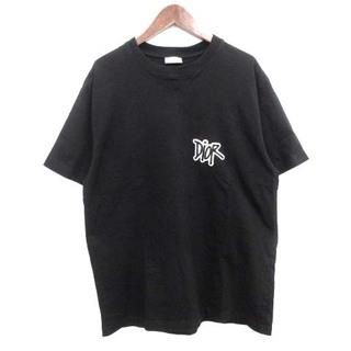 DIOR HOMME - ディオールオム STUSSY Tシャツ ショーンステューシー XXL 黒
